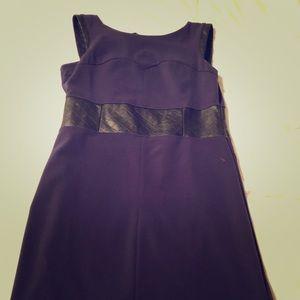 Worthington navy blue shift dress